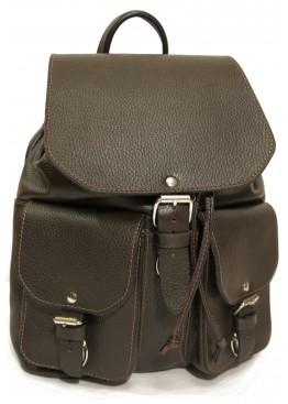 Рюкзак Ren 16-01 тёмно коричневый