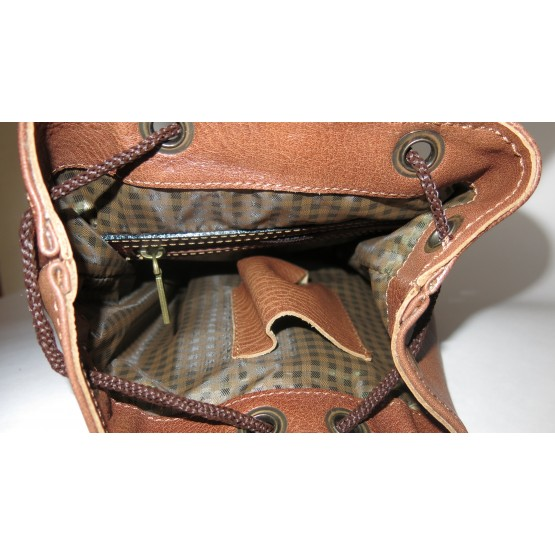 """Кожаный рюкзак """"Колибри"""""""
