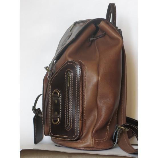 """Рюкзак """"Стиль-2"""" (коричневый)"""
